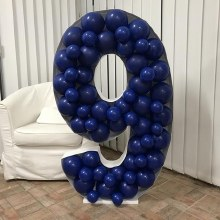 Mosaic Frame With Balloons #9