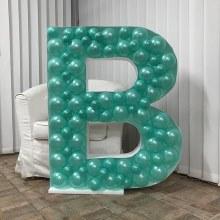 Mosaic Frame w/ Balloons B