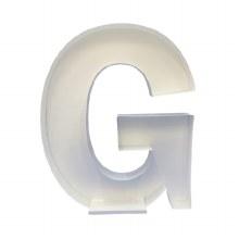 """Mosaic Frame """"G"""" Shape"""