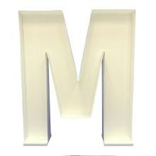 """Mosaic Frame """"M"""" Shape"""
