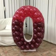 Mosaic Frame w/ Balloons O