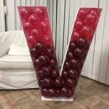 Mosaic Frame w/ Balloons V