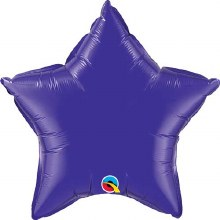"Star ~ 20"" Purple"