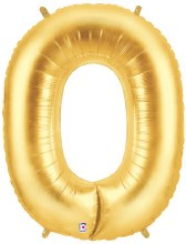 "Megaloon Gold Number ""0"""