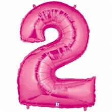 "40"" Megaloon Pink Number 2"