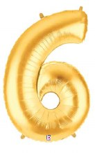 """40"""" Megaloon Gold Number 6"""