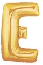 "40"" Megaloon Gold Letter E"