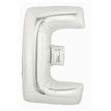 "40"" Megaloon Silver Letter E"
