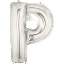 "40"" Megaloon Silver Letter P"