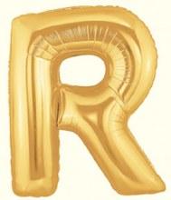 "40"" Megaloon Gold Letter R"