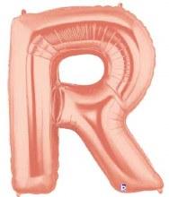 "Megaloon Rose Gold ""R"""