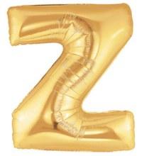 """40"""" Megaloon Gold Letter Z"""