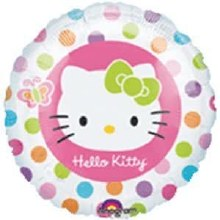 """Hello Kitty Colorful Dots ~ 18"""""""