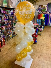Balloon Decor - New Year Celebrate Column