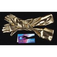 Gloves Metallic GLD