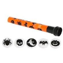 Flashlight Spooky Shape 5pk