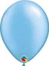 Latex Balloon 11in Pearl Azure