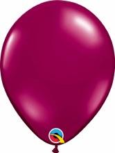 Latex Balloon 11in Pl Burgundy