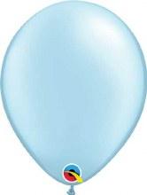 Latex Balloon 11in Prl Lt Blue