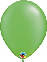Latex Balloon 11in Pearl Lime