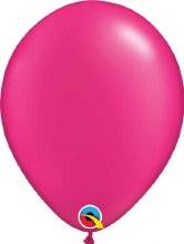 Latex Balloon 11in Prl Magenta