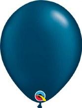 Latex Balloon 11in Pl Mdn Blue