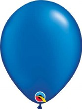 Latex Balloon 11in Pl Sapphire