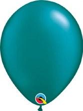 Latex Balloon 11in Pearl Teal