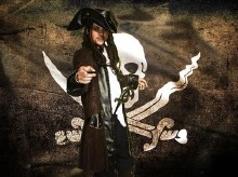 Rental Pirate Carribean Costume