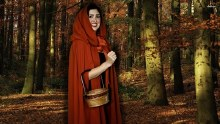 Rental Red Riding Hood Cape