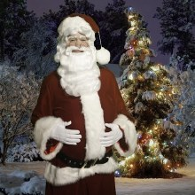 Costume Rental Santa Suit