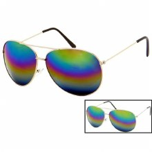 Sunglasses Aviator Rainbow
