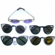 Sunglasses Cat Shape Metal
