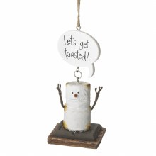 S'more Ornament ~ Let's Get Toasted