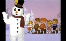 Rental Costume Snowman Mascot