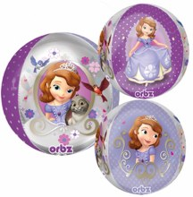 Sofia The First ~ 16in Round Orbz