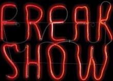 Neon Light Freak Show