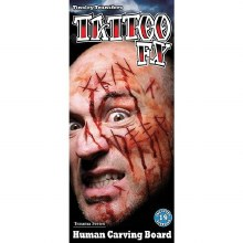 Tattoo Gorywood Carving Board