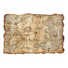 Treasure Map Plastic