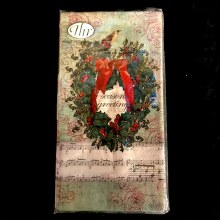 Christmas Carol Guest Paper Towels ~ 20 Pack
