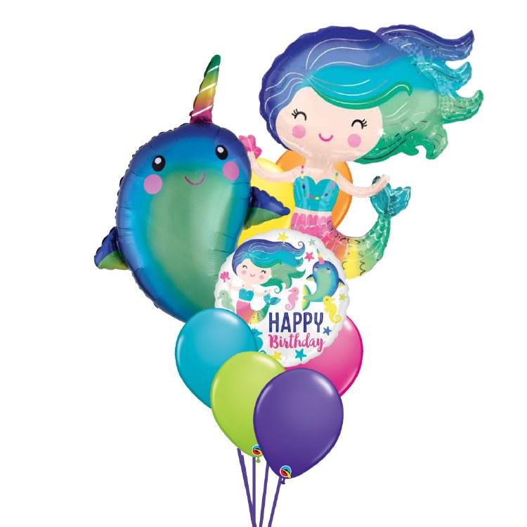 Under the Sea Birthday Balloon Bouquet