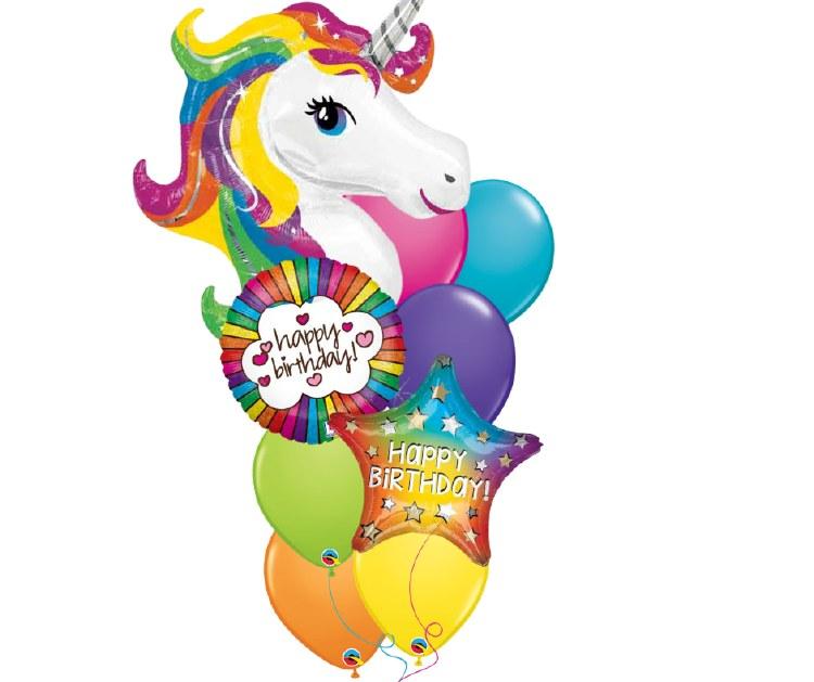 Believe in Unicorns Large Balloon Bouquet