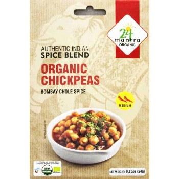 24 Mantra: Org Chickpeas Spice