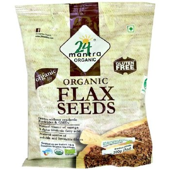 24 Mantra: Org Flax Seeds  7oz
