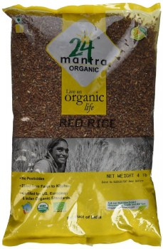 24 Mantra: Org Red Rice 4lb