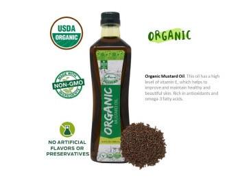 Aiva: Org Mustard Oil 1lt