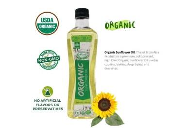 Aiva: Org Sunflower Oil 1lt