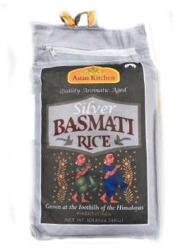 Ak : Silver Basmati Rice 20lb.