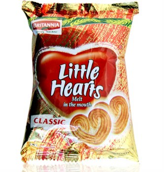 Britannia: Little Heart 75gm