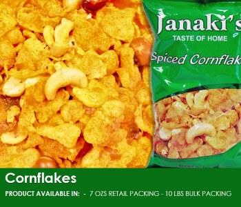 Janaki: Masala Corn Flakes 7oz